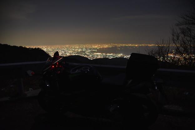 六甲山からの夜景02