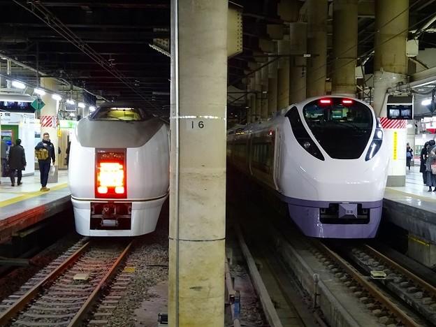 E657系×651系