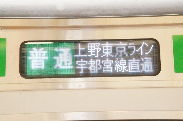 普通 上野東京ライン宇都宮線直通