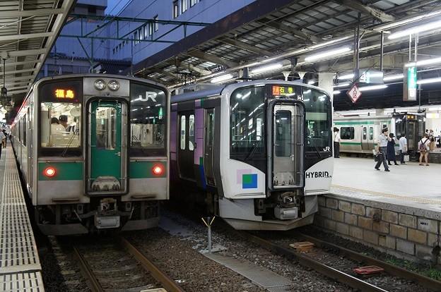 701系×HB-H210系×E721系