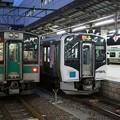 写真: 701系×HB-H210系×E721系