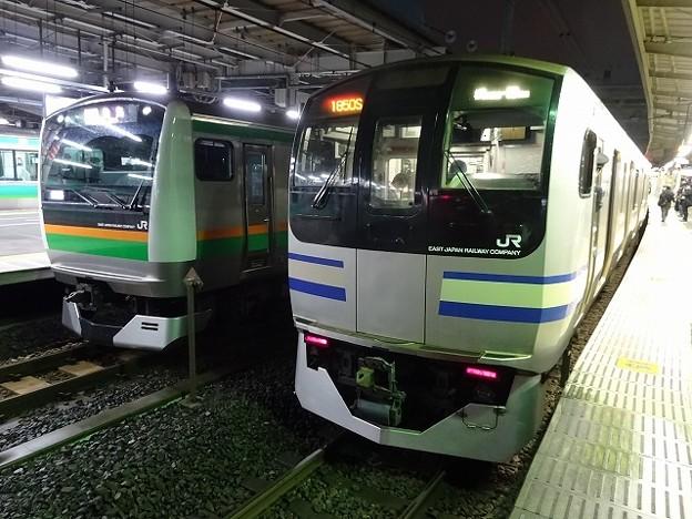 E217系×E233系3000番台