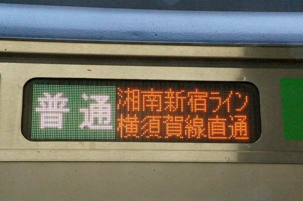 普通 湘南新宿ライン横須賀線直通