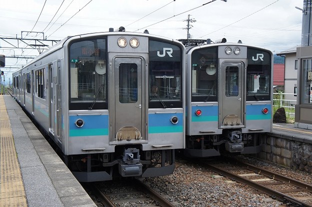 E127系×E127系