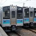 Photos: E127系×E127系