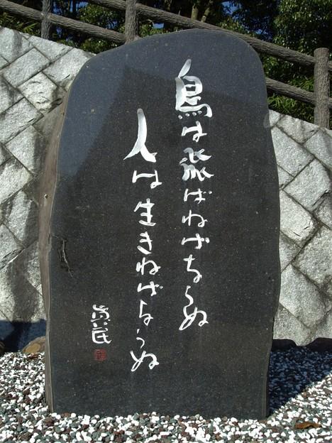 坂村真民の碑