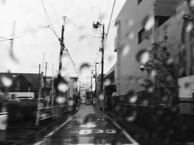 雨降り車窓