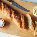 Photos: It's good!「French Baguettes & Plain omelet & Broccoli super sprout」 lovely!!