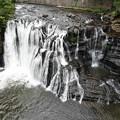 写真: 竜門の滝ドローン♪