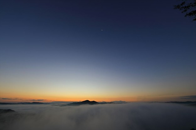 Photos: 夜明けの雲海
