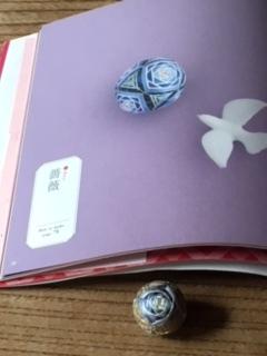 小さなてまりとかわいい雑貨より 薔薇