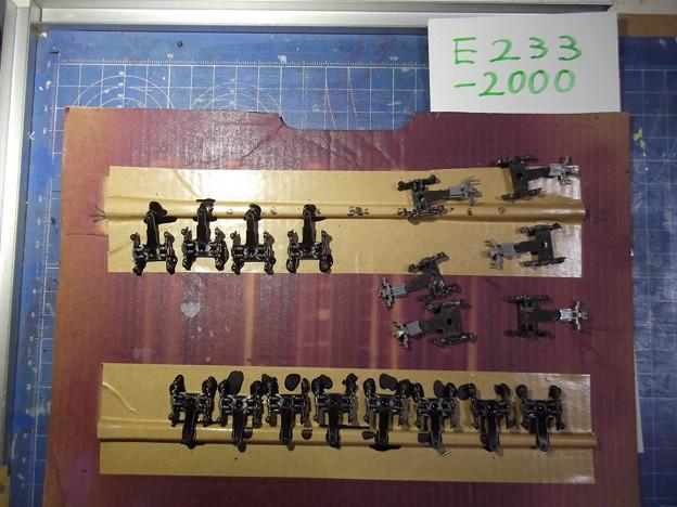 E233-2000(2015/12/12現在状況) 台車枠