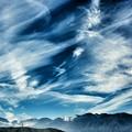 写真: 木曽駒ヶ岳方面を臨む