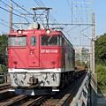 紅色の機関車