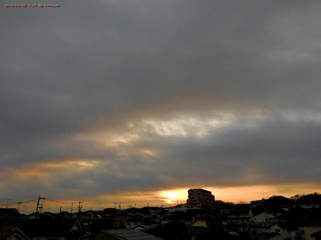 日の出(160206)