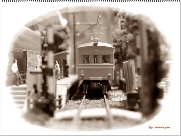 写真: 田舎の驛