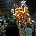 写真: 熱い夜祭り