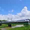 写真: 盛夏の雲