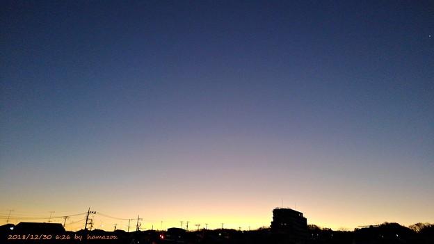 朝焼け(181230)