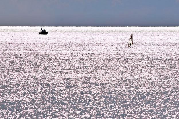冬、湘南の海