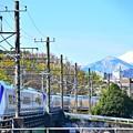 富士と特急かいじ