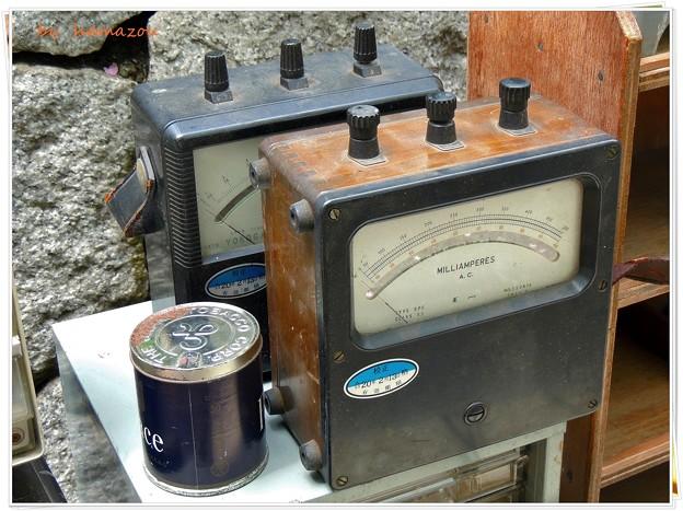 缶ピーと電流計
