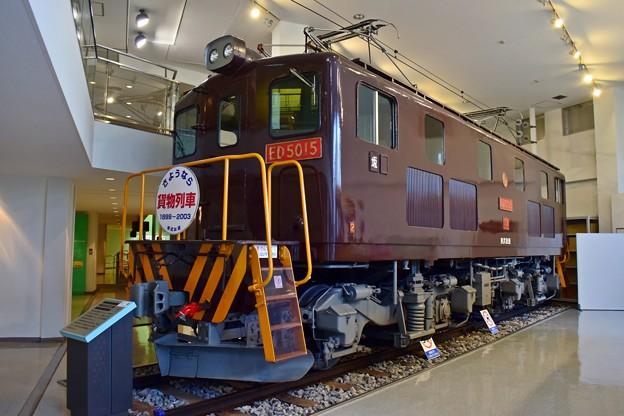 凸型電気機関車