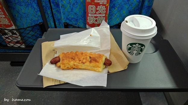 朝の腹ごしらえ