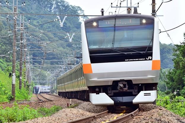 中央線の通勤電車