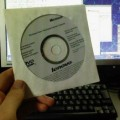 Photos: Vista アップグレードディスク