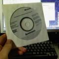 写真: Vista アップグレードディスク