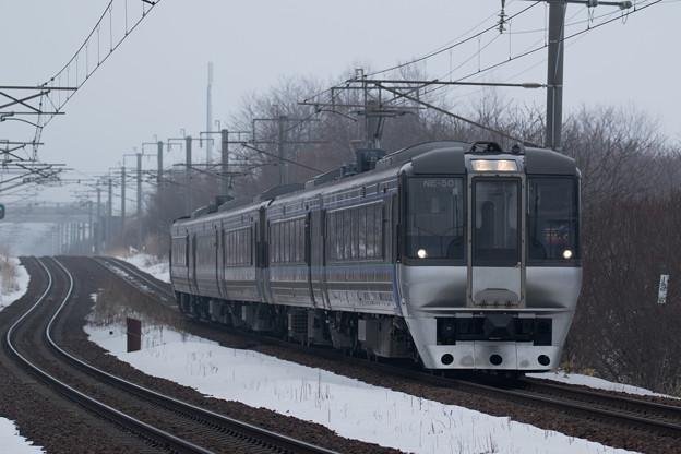 785系エル特急「スーパーカムイ」@島松-北広島