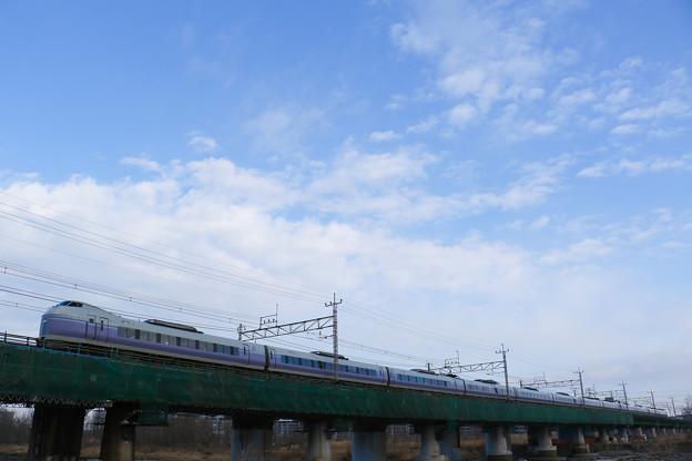 E351系スーパーあずさ@立川~日野