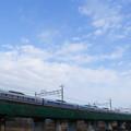 写真: E351系スーパーあずさ@立川~日野
