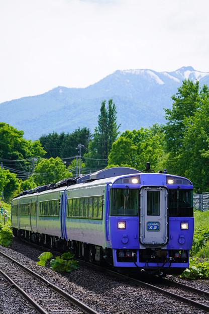 キハ183系大雪1号@白滝駅