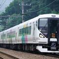 Photos: E257系特急かいじ@小名路踏切
