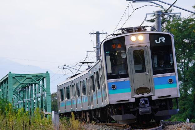 E127系@川中島~安茂里