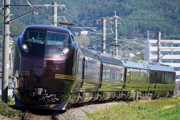 E655系「なごみ」団臨@下諏訪~岡谷