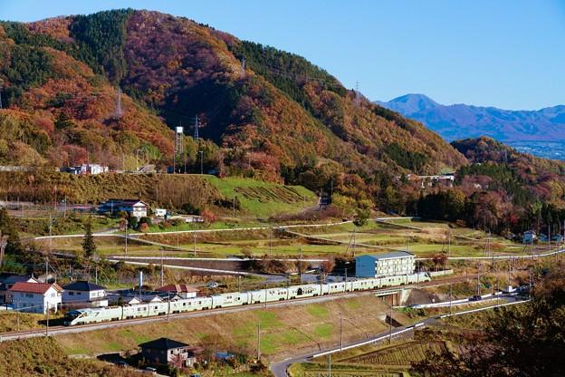 TRAIN SUITE 四季島@上毛高原俯瞰