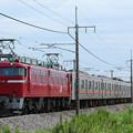 Photos: 配9737レ EF81-141+205系8BケヨM63@ヤギシブ
