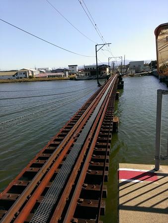 北鉄線・大野川鉄橋
