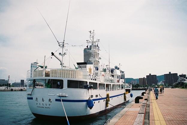 「鹿島丸」船尾