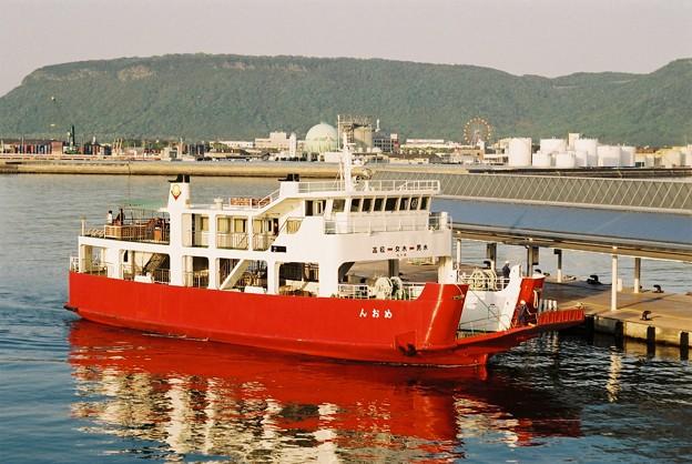 ドック代船運航の「めおん」(1)