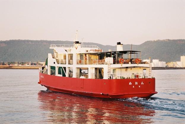 ドック代船運航の「めおん」(3)