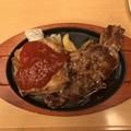 Photos: ジョイフルの+リブステーキと+チキンステーキ
