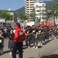 Photos: 呉みなと祭のパレードで呉市の中学校の吹奏楽部