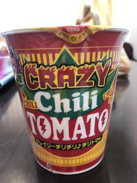 日清食品のカップヌードルBIGのクレイジーチリチリ♪チリトマト
