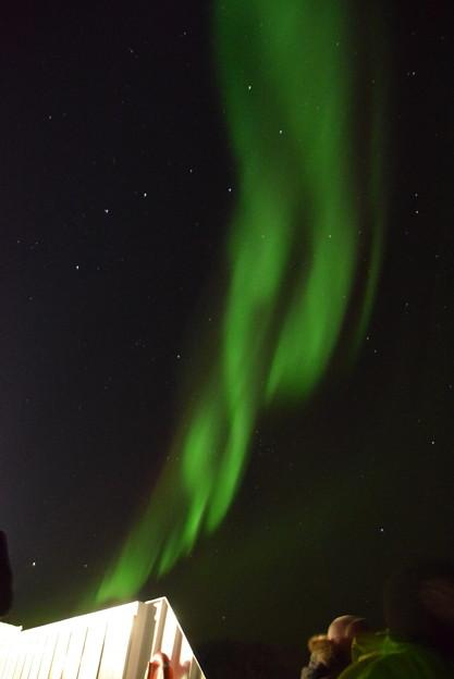 北極圏で北斗七星