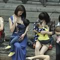 """Photos: 福州?""""哺乳快?"""" 倡?母乳喂?2"""