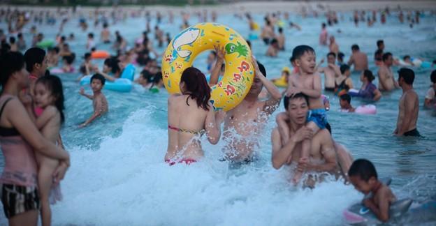 中国のハワイ 海南島で海水浴~~ (6)